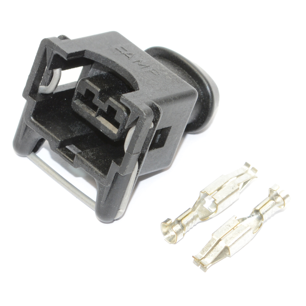 Electrical Connector, AMP Junior Timer 2 Pin Connector, Including ...