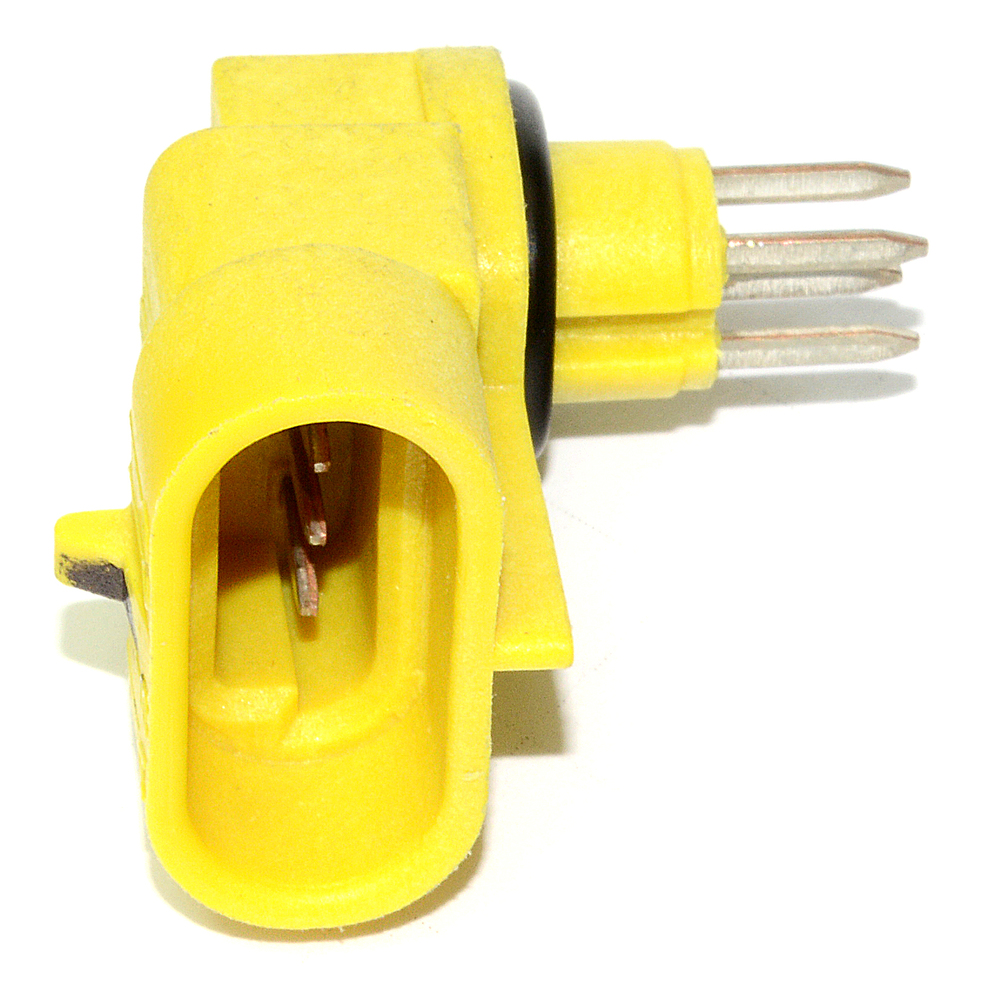 Electrical connector bulkhead assembly way